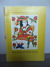 Malerei Hinter Glas - Salzburger Museum - Illustrated 1971