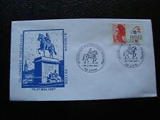 FRANCE - enveloppe 16 17/5/1987 (congres philatelique lyon) (cy23) french