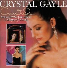 Straight to the Heart/Nobody's Angel [Edsel] by Crystal Gayle (CD,