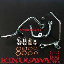 Turbo Oil Water Line Install Kit Mitsubishi 4G63T Lancer EVO 8 9 TD05HR (3 pipe)