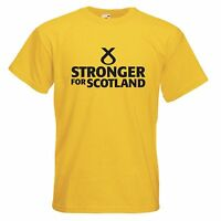 SNP STRONGER FOR SCOTLAND T-SHIRT - SCOTTISH NICOLA STURGEON ELECTION INDY REF