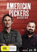 AMERICAN PICKERS : MUSEUM MEN -  DVD - UK Compatible