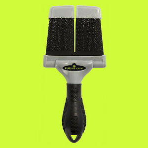 FURminator LARGE FIRM SLICKER BRUSH DOG Grooming Tool UNTANGLE MEDIUM LONG Mats