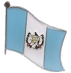 LOT OF 12 Guatemala Flag Lapel Pins - Guatemalan Flag Pin