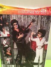 Simplicity Sewing Pattern 2880 Boys Elvis Jumpsuit Costumes Size S-xl Uncut