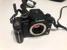 Panasonic LUMIX DMC-G2 12.1MP Digital Camera - Black (Body Only)