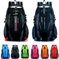 Outdoor Backpack Men Sports Trekking Travel Climbing Hiking Rucksack Bag 40L