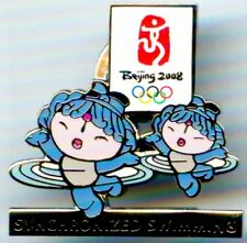 "2008 Beijing Olympic ""SYNCHRONIZED SWIMMING"" Mascot Sports Pin"