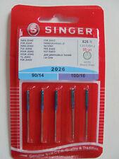 Singer Jeans-Nadeln 2026 -- Stärke 90-100/130/705 H -- 5 Nadeln