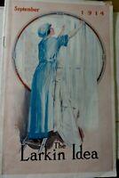 The Larkin Idea Magazine Sep 1914 Buffalo NY / Larkin Club Photos