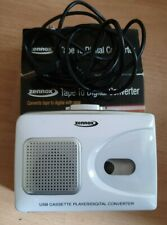 ZENNOX PC/MAC CASSETTE TAPE TO DIGITAL CONVERTER PLUG & PLAY
