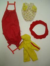 Vtg 80s Kenner Strawberry Shortcake Doll Clothes Lot Berry Wear & Hammock