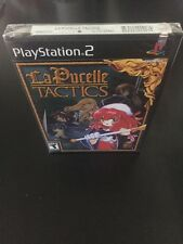 RARE PLAYSTATION 2 PS2 LA PUCELLE: TACTICS NEW & SEALED  RPG Game