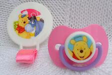 Pyjama 💗 Disney Bear ourson 💗 sucette factice, CLIP + aimant pour poupon REBORN