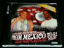 """""""From Mexico to K.C. Volume 1"""" RARE OOP 2005 CD ft. TECH N9NE/HOBOTONE/THE JACKA"""