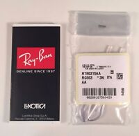 Authentic RAYBAN Replacement Clear Temple Tips RB3025 Aviator RB3362 3174 RB3136