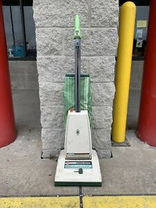 Vintage Hoover Concept One Vacuum cleaner W/ Power Drive Lime Green USA Made