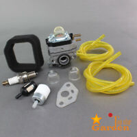 Carburetor Air Filter Kit For Ryobi RY252CS RY253SS RY251PH RY254BC 2 Cycle 25cc