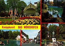 Kneippkurort Bad Wörishofen , Ansichtskarte, gelaufen