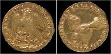 Gold Mexico 1/2 escudo 1863 Moch