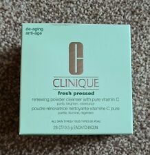 Clinique -Fresh Pressed -Renewing Powder Cleanser with Pure Vitamin C NEW