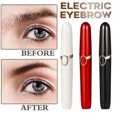 Electric Eyebrow Trimmer Lip Facial Hair Removal Painless Shaver Epilator Razor
