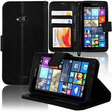 Etui Housse Portefeuille Support Video NOIR Microsoft Nokia Lumia 535/ 535 Dual