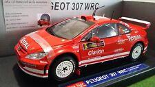 PEUGEOT 307 WRC RALLYE CYPRUS de 2004 au 1/18 SUN STAR 4684 voiture miniature