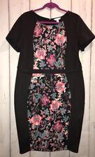 Ashley Nell Tipton Boutique + Dress Black Multi Plus SZ 1x NWT ($60)