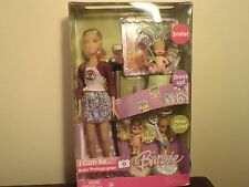 2006 BARBIE I CAN BE... BABY PHOTOGRAPHER DOLL. NEW