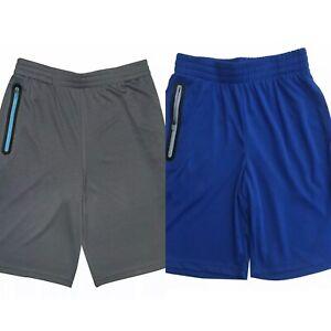 NWT Lot of 2 Champion Authentic Boy's Active Shorts Logo Print Short, Sz 4