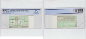 Niederlande/ Lager Westerbork 100 Cent Gutschein Fehldruck verschoben r 63(2)