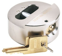 Expert 73Mm Diameter Solid Steel Padlock With Concealed Hardened Shackle And 2