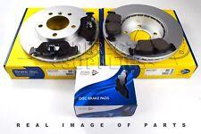 FRONT AXLE BRAKE SET DISCS PADS BMW 3 E46 Z3 E36 Z4 E85 90-09 ADB01023 ADC1702V