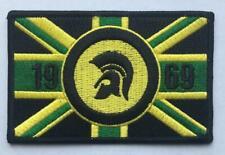 SKA REGGAE ROCKSTEADY PATCH - TROJAN JAMAICA UNION JACK FLAG 1969 - RECTANGULAR