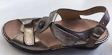 Finn Comfort  Metallic Expresso Adana Sandals EUC U.K. 4.5  US 7 $275