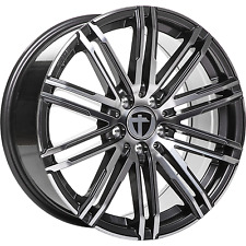 "4x Tomason TN18 8x18"" 5x120 ET50 Gunmetal polished Audi VW T5 T6 Amarok"