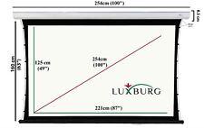 Tension Beamer Leinwand mit Motor 204x115 cm Luxburg® 92 Zoll Premium Tab