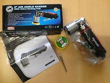 Druckluft Mini Schleifmaschine AT-7037 B mit 2 KLETT Schleifteller ø 50+75mm