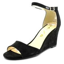 Sandali e scarpe neri tessili marca Unisa per il mare da donna