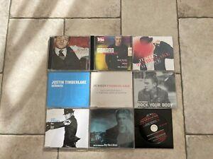 Justin Timberlake _ Lotto 9 X CD PROMO RADIO & SINGLES RARE