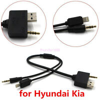 Hyundai Kia Music Interface AUX Adapter Cable for iPod iPhone 6S 6 PLUS 5S 5C 5