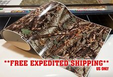 """GLOSS CAMO DECAL MADE FROM 3M WRAP VINYL 48x15"""" TRUCK CAMO TREE PRINT CAMOUFLAGE"""