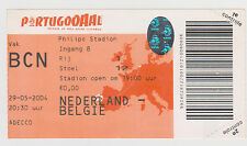 Sammler Used Ticket / Entrada Holland v Belgium 29-05-2004