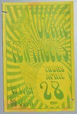 Ozric Tentacles Original Concert Poster Flyer Portland Oregon 1994 La Luna