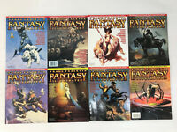 Vintage Frank Frazetta Fantasy Illustrated Magazine Lot Issues 1-8 &Bonus Letter