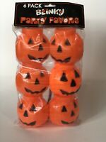 Lot VTG HALLOWEEN PLASTIC JACK O LANTERN Blow Mold CONTAINERS CANDY NOS Pumpkin
