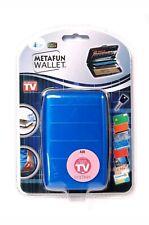 Metafun RFID Aluminium Wallet / Credit Card Holder (5 Slots)