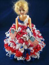 Original Vintage Miss July 4th Doll- E. Kuclichak- Class of 1933 Reunion- 1976