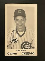 1988 Canon Photo Jamie Moyer Autographed Card Chicago Cubs